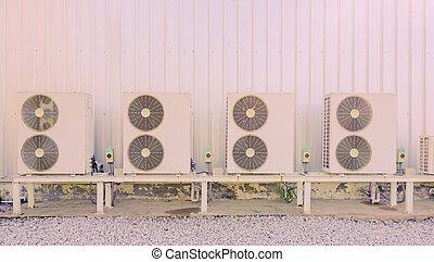 air-conditioner fan