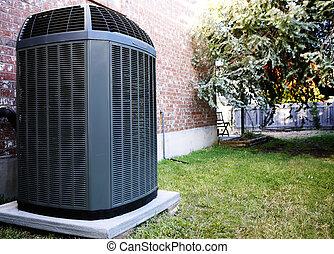 Air-Conditioner - High efficiency modern AC-heater unit, ...