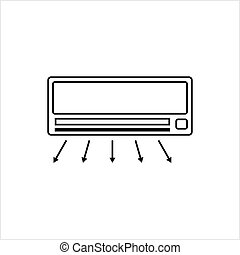 Air Conditioner Icon, Ac Icon