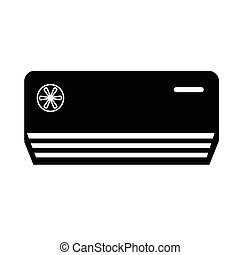 Air Conditioner icon illustration design