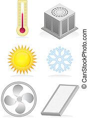 Air Conditioner Icons