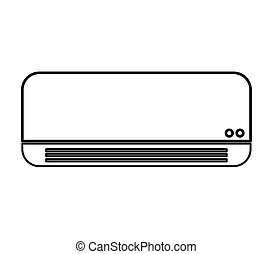 air conditioner isolated icon
