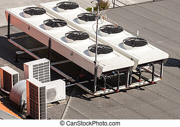 Air conditioner - Cooling Tower for a large office building.