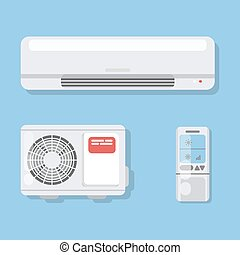 Air conditioner set.