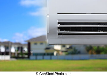 air conditioner cooling fresh system saving energy