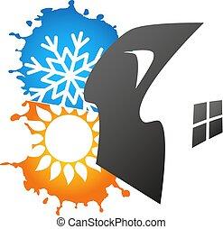 Air conditioner symbol design