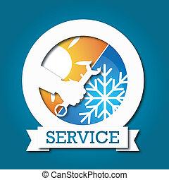 Air conditioner vector - air conditioner repair design for...