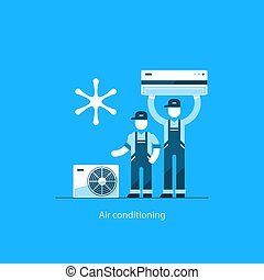 Air conditioning concept