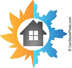 Air conditioning house - Air conditioning at home, the...