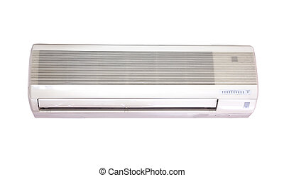 Air Conditioning isolated on white background