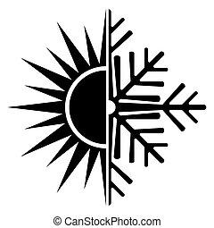 air conditioning vector icon