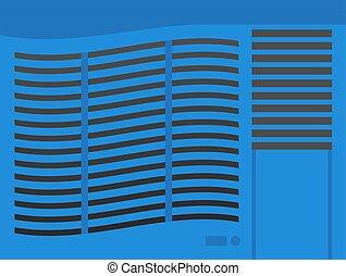 Air conditioning vector illustration.