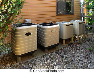 Air conditioning/heating units