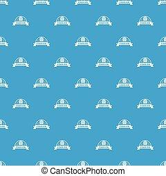 Air cooler pattern vector seamless blue