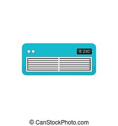 Air cooler symbol - air conditioner - electric appliance -...