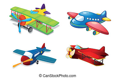air, divers, avions