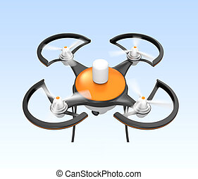 Air drone with camera