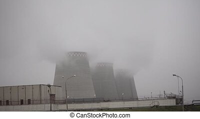 Air emissions, pipe plants
