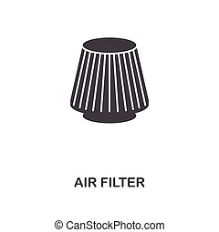 Air Filter creative icon. Simple element illustration. Air Filter concept symbol design from car parts collection. Can be used for web, mobile, web design, apps, software, print.