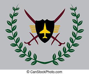 air force eagle team vector art