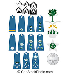 Air Force insignia Saudi Arabia - Military ranks and...