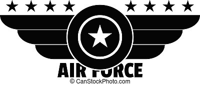 Air force logo, simple style