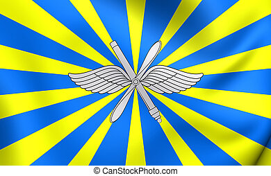 Air Force of the Russian Federation Flag