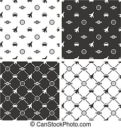 Air Force Seamless Pattern Set