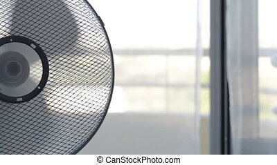 Air freshener fan cools room on a hot day. - Air freshener...