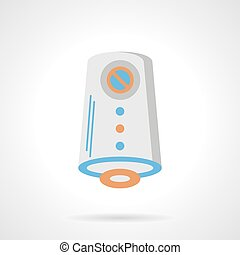 Air freshener flat color vector icon