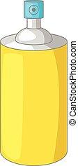 Air freshener icon, cartoon style