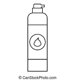 Air freshener icon, outline style