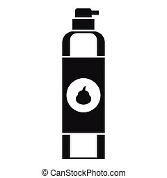 Air freshener icon, simple style