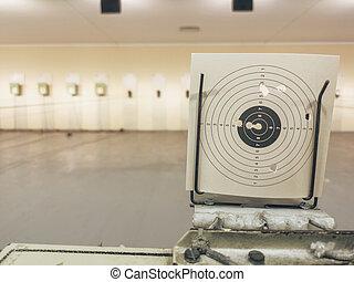 Air Gun Shooting Range, Practice Shooting Range Target