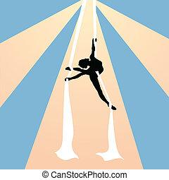 Air gymnast