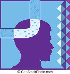 Air Head - air head vector illustration clip-art eps