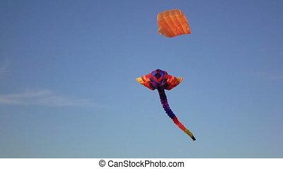 Air heaven snake in sky