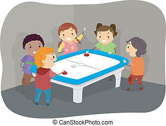 Air Hockey Kids