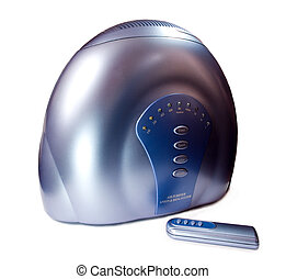 air ionizer with remote control - Blue Metallic air ionizer...