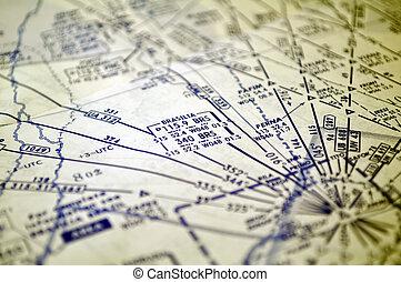 Air navigation: map of Brazil (Brasilia area) - Air ...