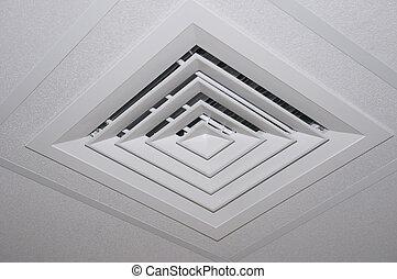 Decorative ventilation screen