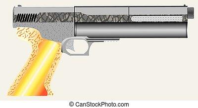 Air pistol.eps
