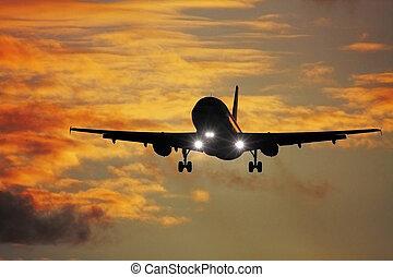 air plane - A photography of a jet air plane