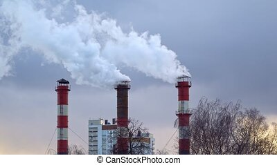 Air pollution from the combustion of coal and fuel oil at ...