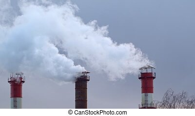 Air pollution from the combustion of coal and fuel oil at...