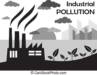 Air pollution of factory
