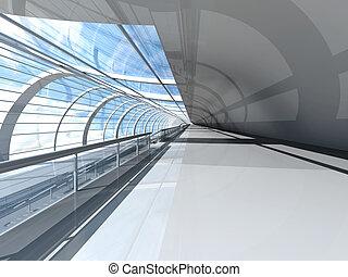 Air Station - 3D rendered Illustration.