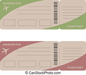 Air Tickets Vector Clipartby Nete0 13
