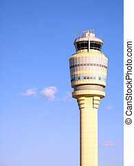 Air Traffic Control Tower at Atlanta Hartsfield-Jackson...