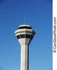Air Traffic Control Tower in Perth, Australia.